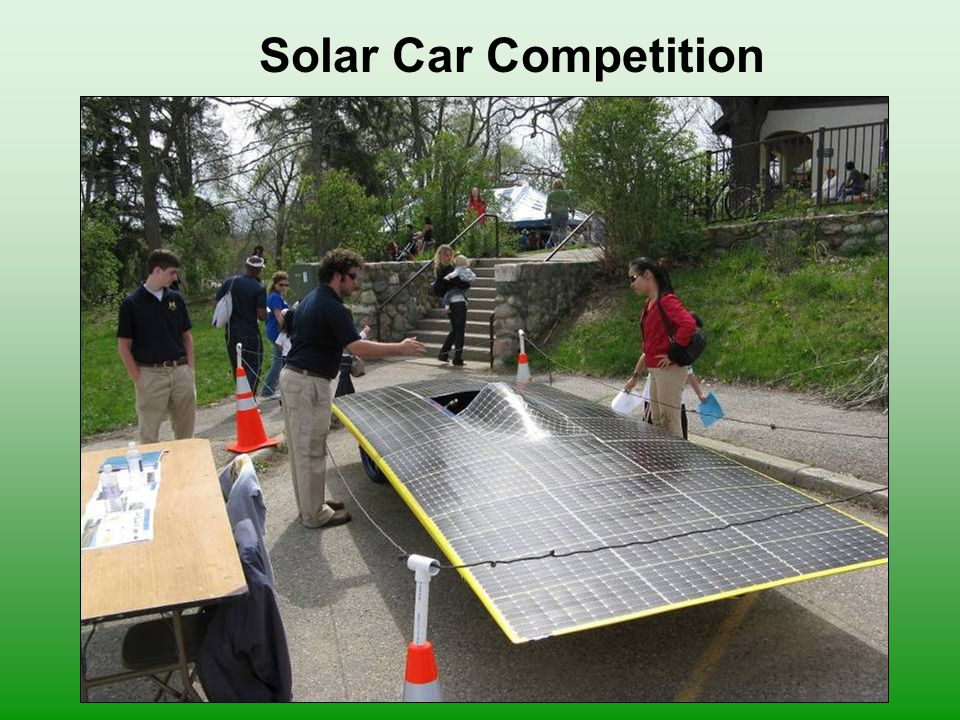 Solar Car Competition