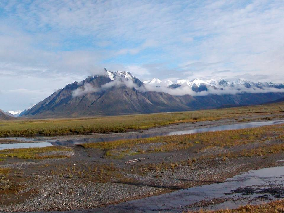 Double Mt. Sheenjek River valley, ANWR