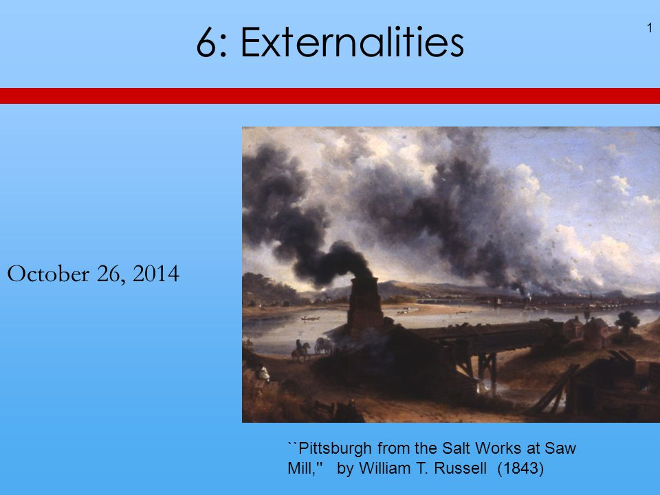 52 An Idea from Last Time Ways of dealing with externalities include licenses (for free or auctioned) and taxes.