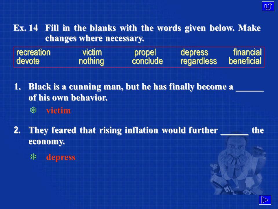 Language Focus Vocabulary (Ex. 14)Vocabulary (Ex.