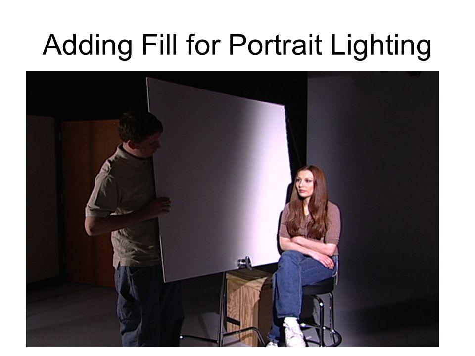 Adding Fill for Portrait Lighting