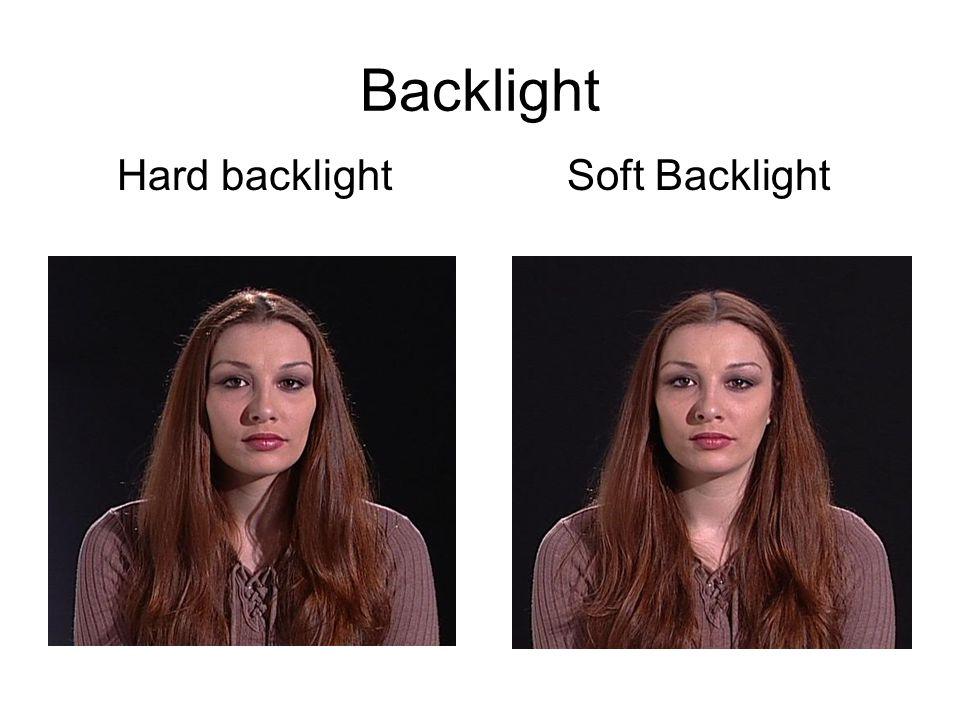 Backlight Hard backlight Soft Backlight