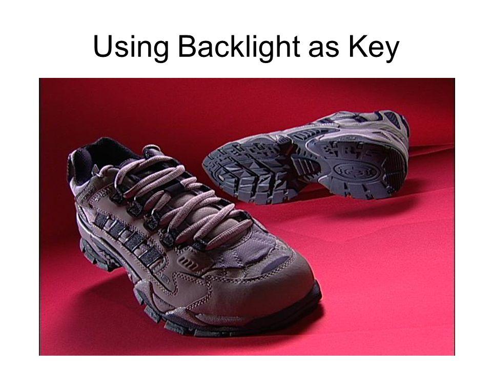 Using Backlight as Key
