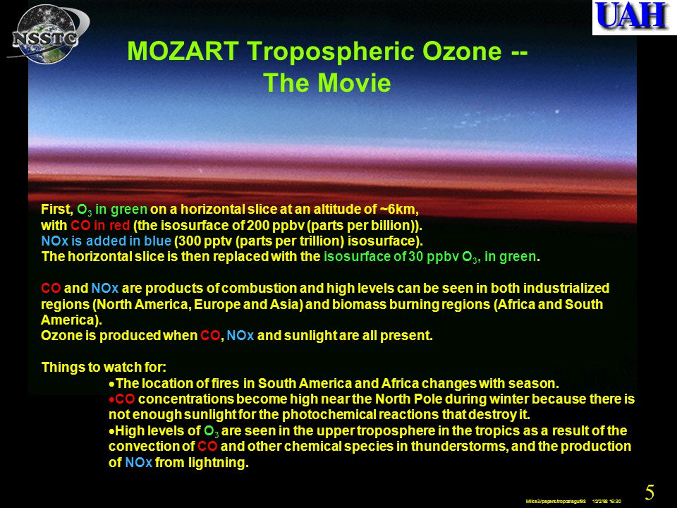 46 Mike3/papers/tropoz/aguf98 12/2/98 16:30 RAPCD Summary The Regional Atmospheric Profiling Center for Discovery, RAPCD, is designed to address atmospheric chemistry and air quality issues on the National agenda: –Processes controlling tropospheric trace gases and aerosols.
