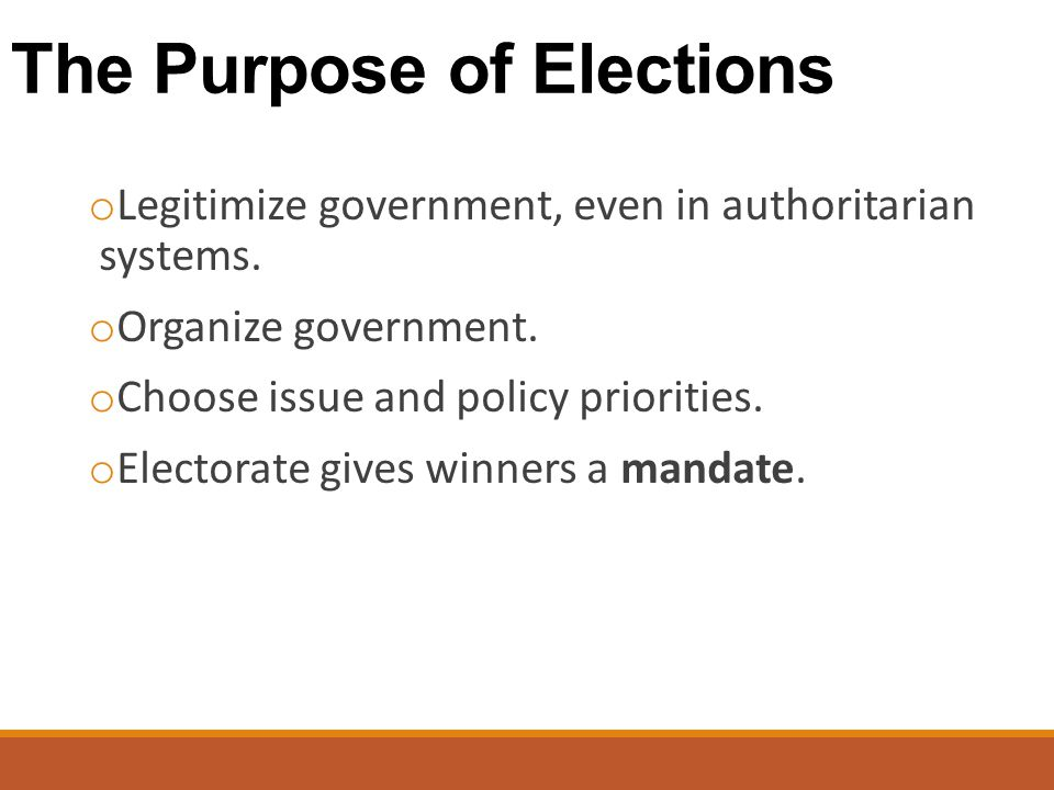 1) Getting the Voters Involved o Electorate: Those eligible to vote o Initiative: citizens propose legislation and then vote on it.