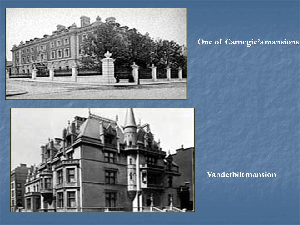 One of Carnegie's mansions Vanderbilt mansion