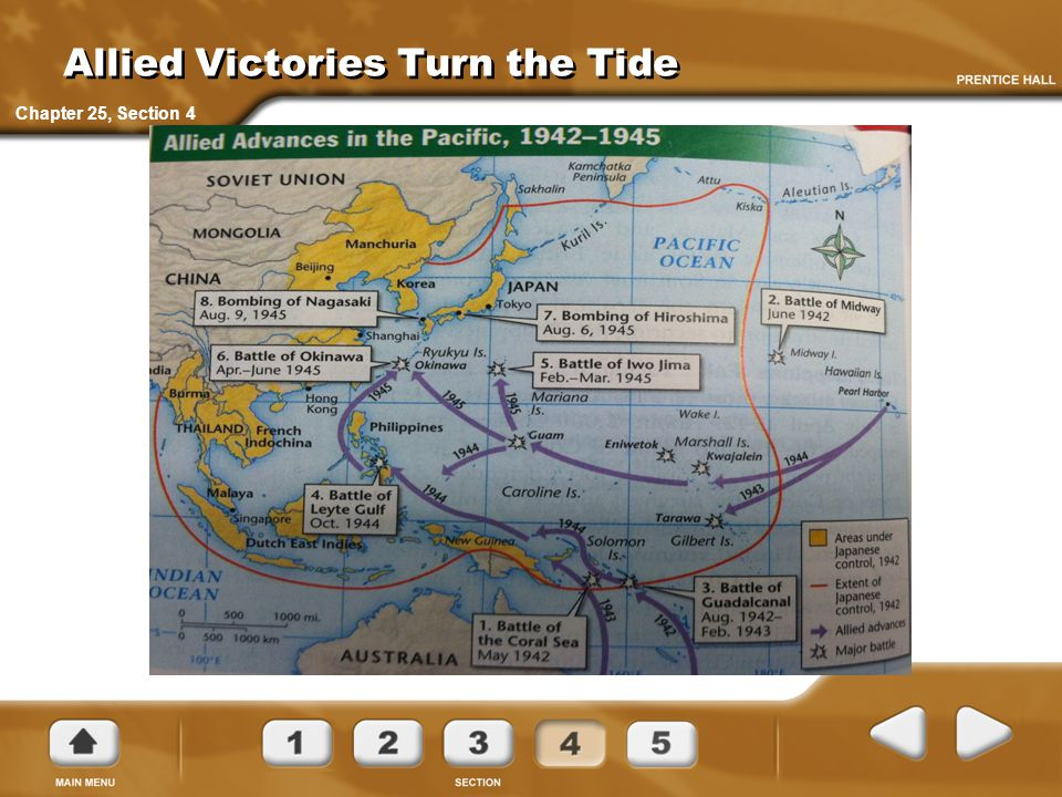 Allied Victories Turn the Tide Chapter 25, Section 4