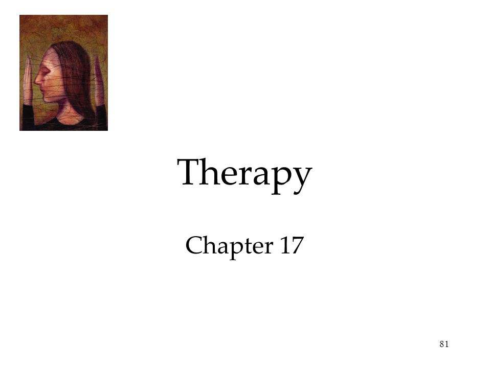 81 Therapy Chapter 17