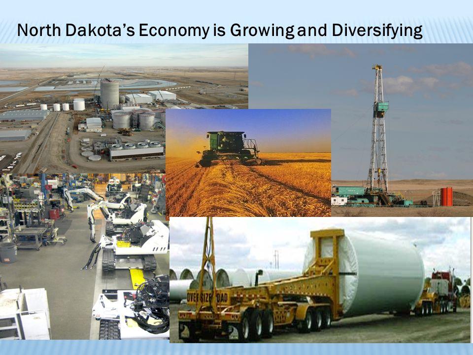 North Dakota's Economy is Growing and Diversifying