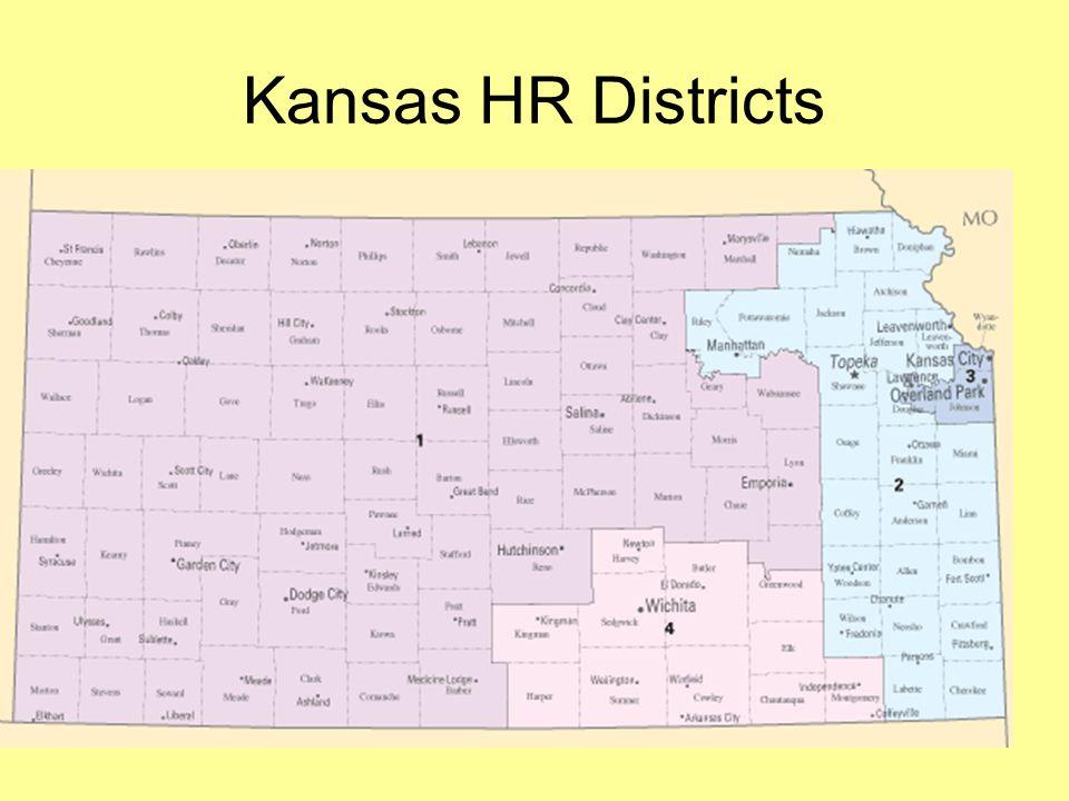 Kansas HR Districts