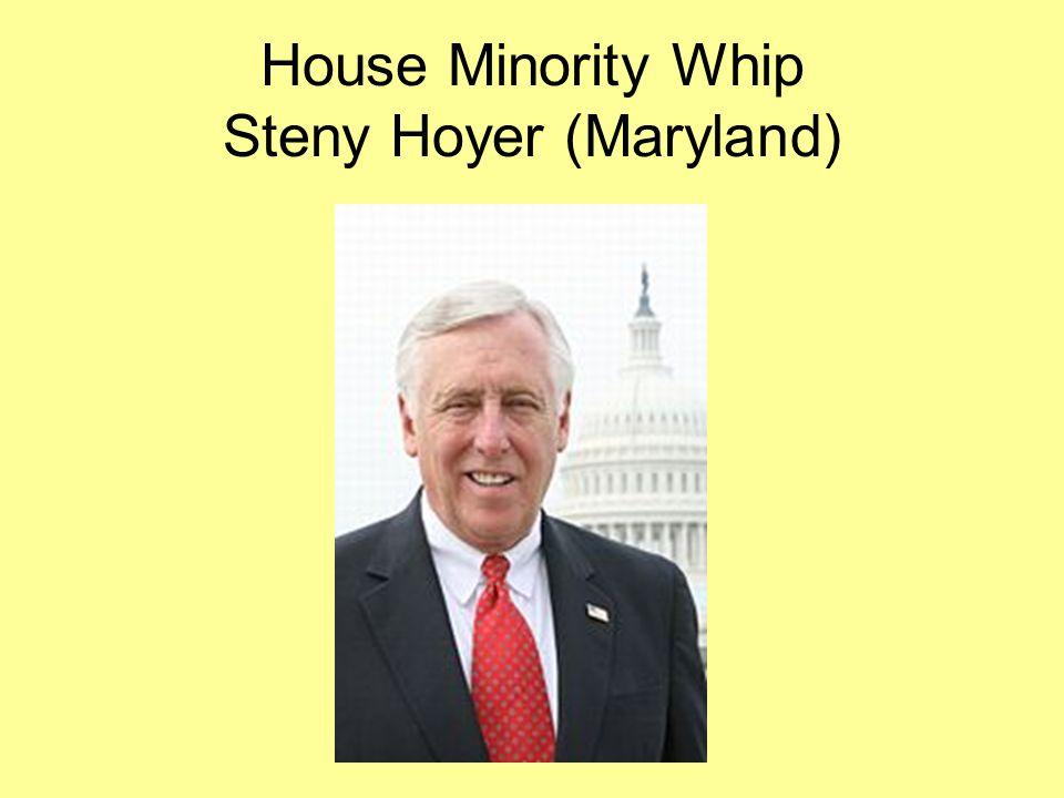 House Minority Whip Steny Hoyer (Maryland)