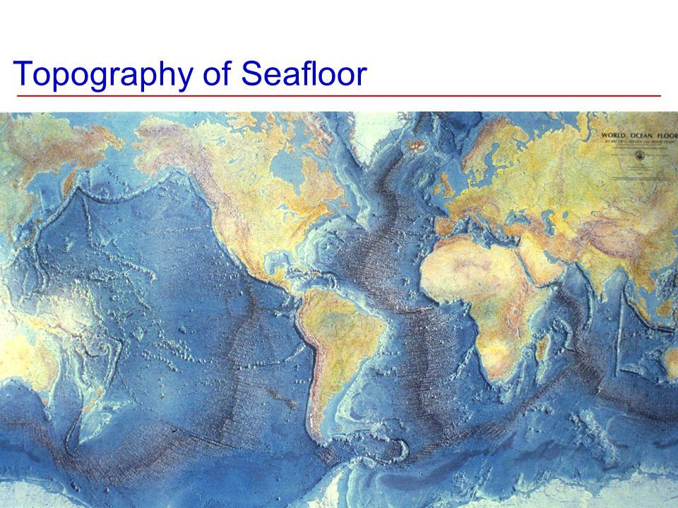 Topography of Seafloor