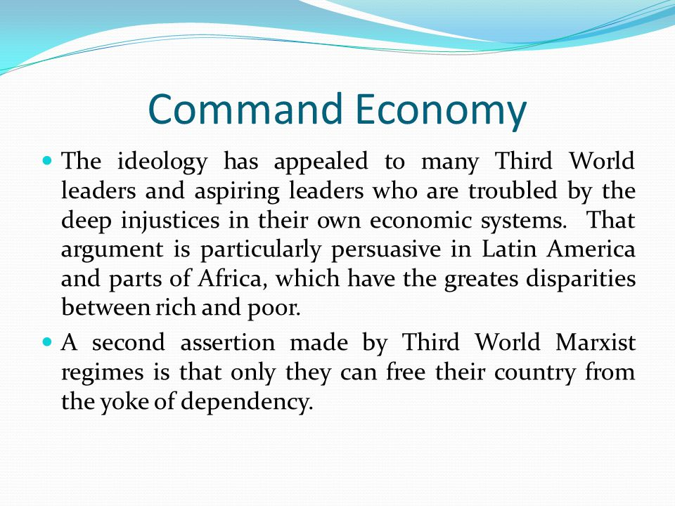 Latin American Statism But state sponsored ISI also promoted economic inefficiencies and inequalities.