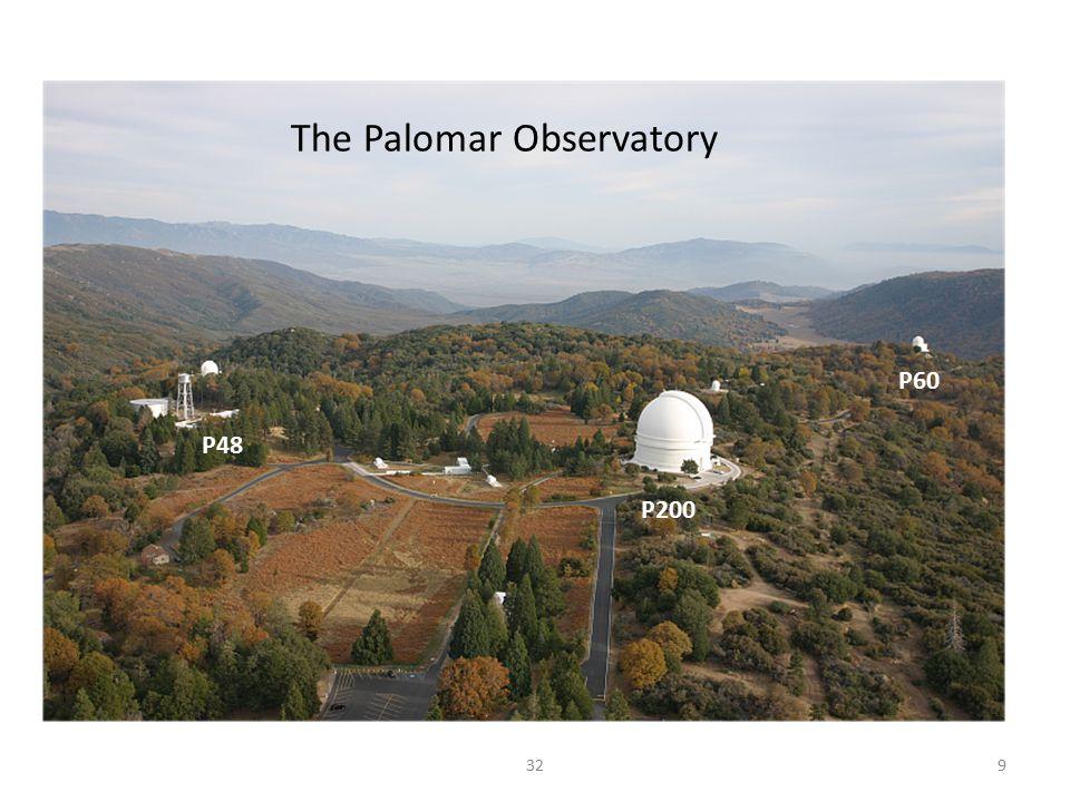 P48 P60 P200 329 The Palomar Observatory