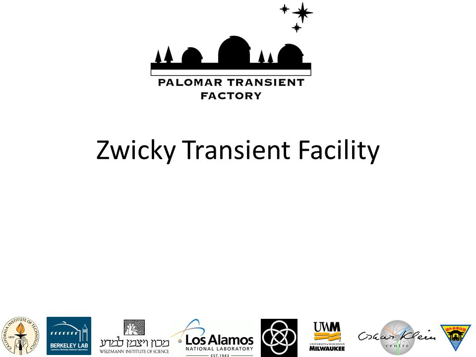 Zwicky Transient Facility