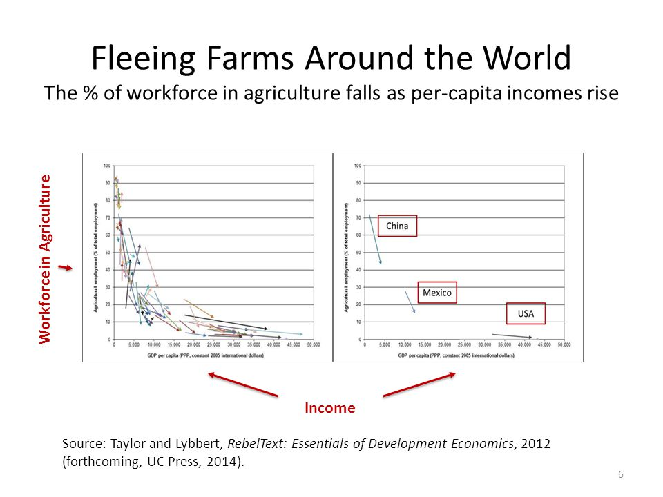 Source: Taylor and Lybbert, RebelText: Essentials of Development Economics, 2012 (forthcoming, UC Press, 2014).