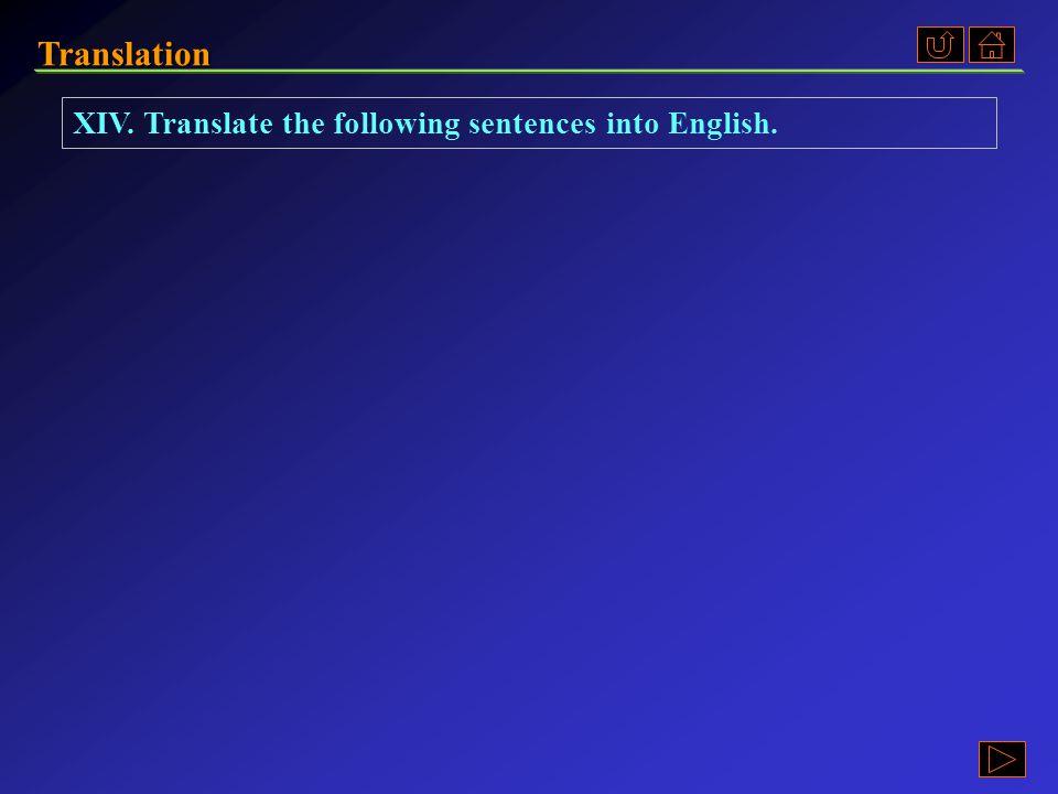 Translation Ex. XI, p. 252 《读写教程 I 》 : Ex. XI, p. 252