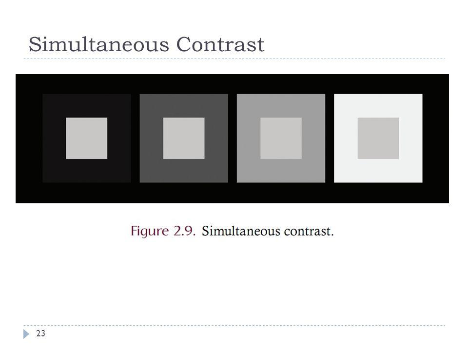 Simultaneous Contrast 23