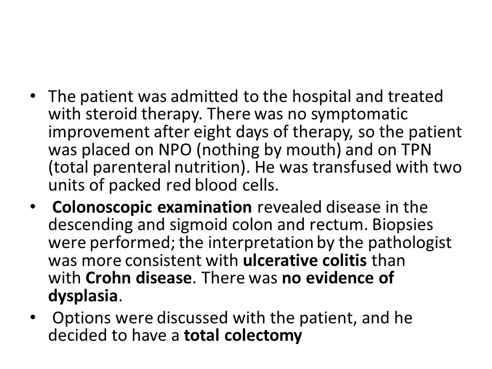 What histologic feature is seen in Crohn's disease that is not seen in ulcerative colitis.