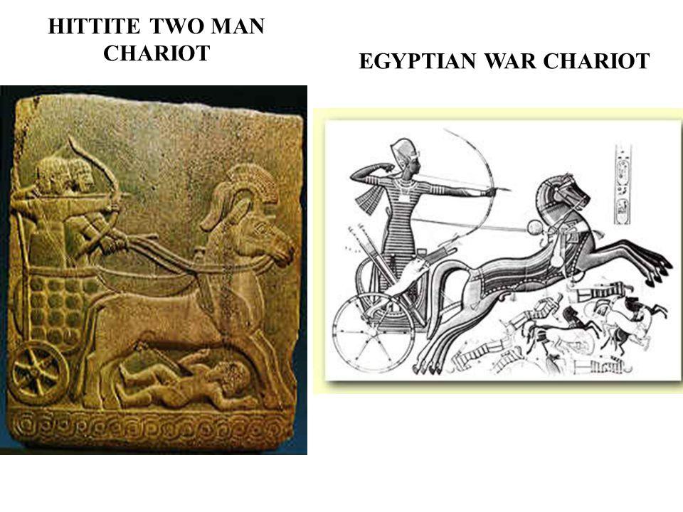 HITTITE TWO MAN CHARIOT EGYPTIAN WAR CHARIOT