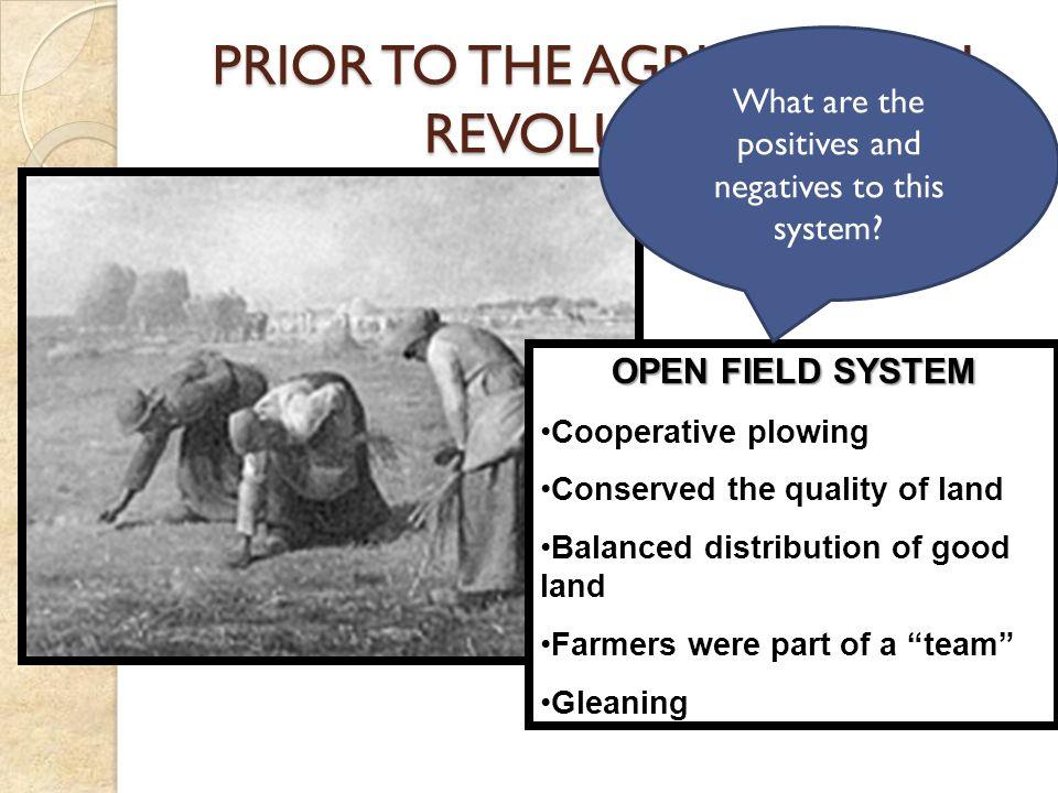 15 TH CENTURY FARMING 18 TH CENTURY FARMING THE AGRICULTURAL REVOLUTION