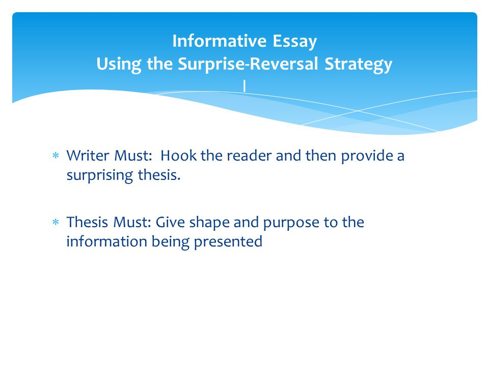 List strategies for writing persuasive and narrative essays