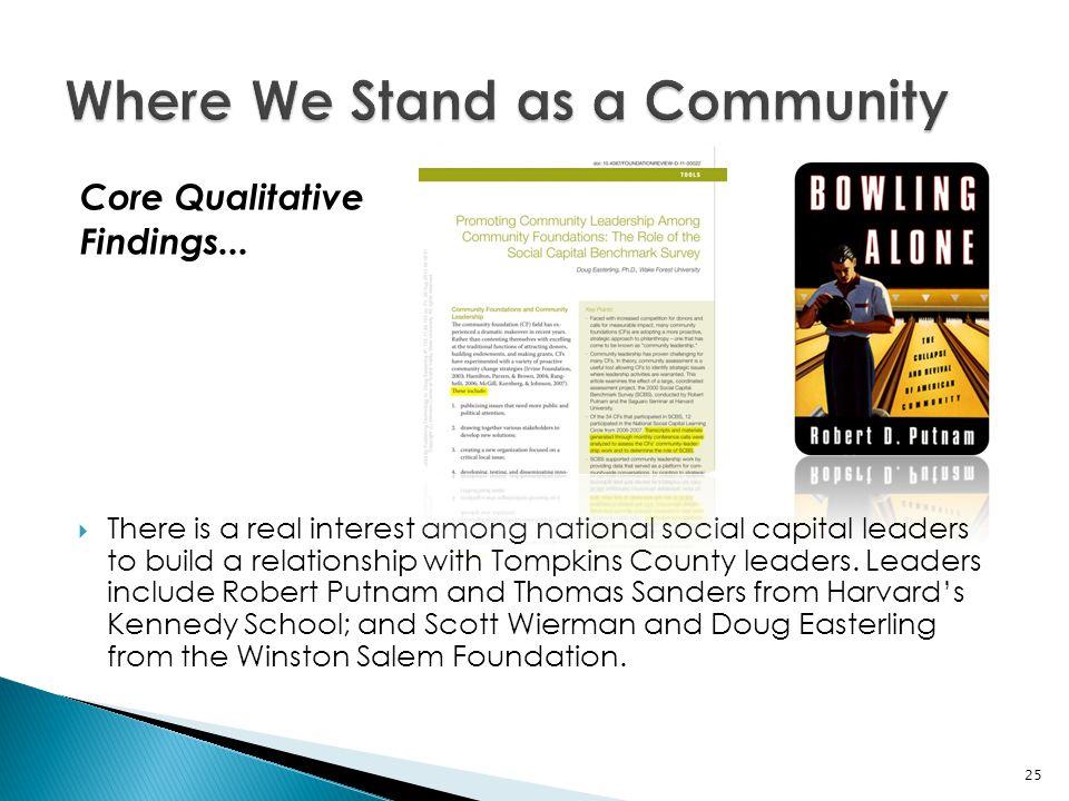 Core Qualitative Findings...