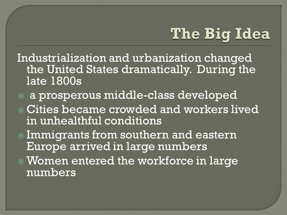  The flood of immigration in the late 1800s brought with it a new wave of nativism, the belief that native-born Americans and their ways of life were superior to immigrants and their ways of life  In the late 1800s, descendants of the old immigrants were often among the nativists protesting the arrival of new immigrants