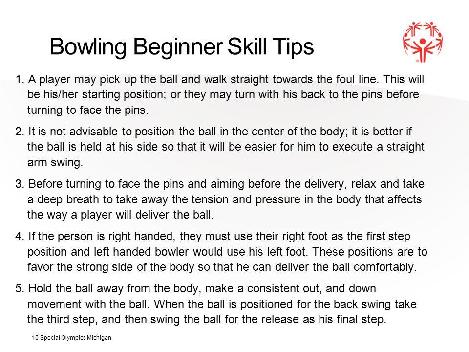 Bowling Beginner Skill Tips 1.
