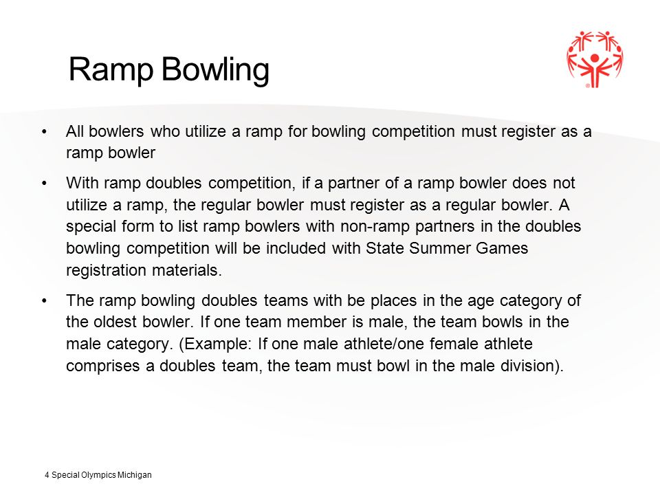 Doubles and Team Bowling Competition will be offered for all male and female doubles and teams.