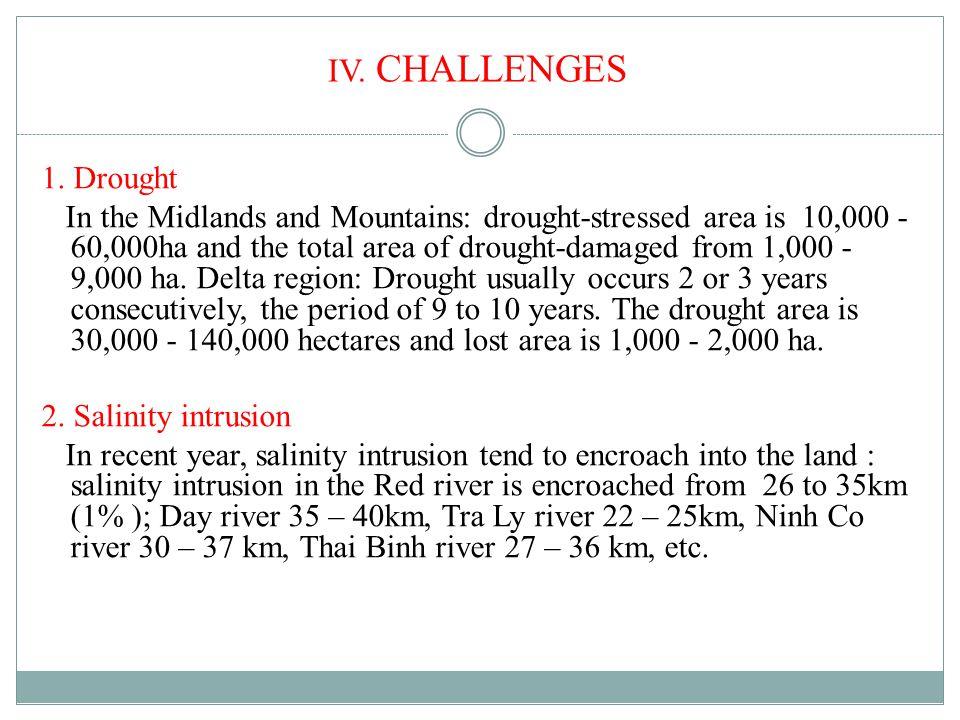IV. CHALLENGES 1.