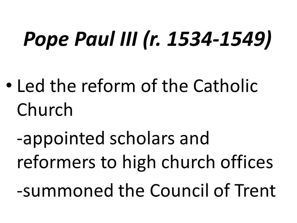 Pope Paul III (r.