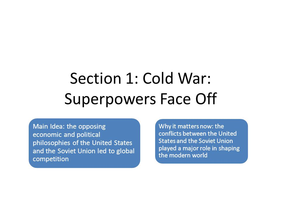 cold war foreign policy notes