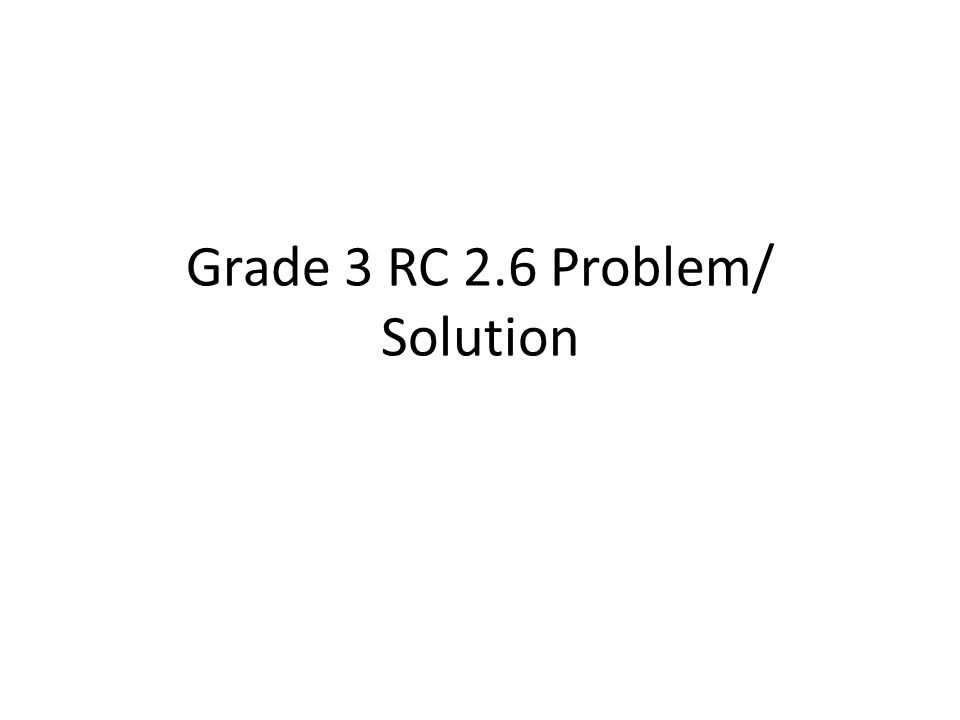 We will identify 1 problems and solutions in fables 2.