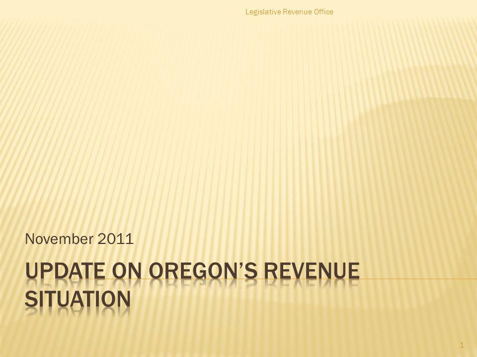 November 2011 Legislative Revenue Office 1