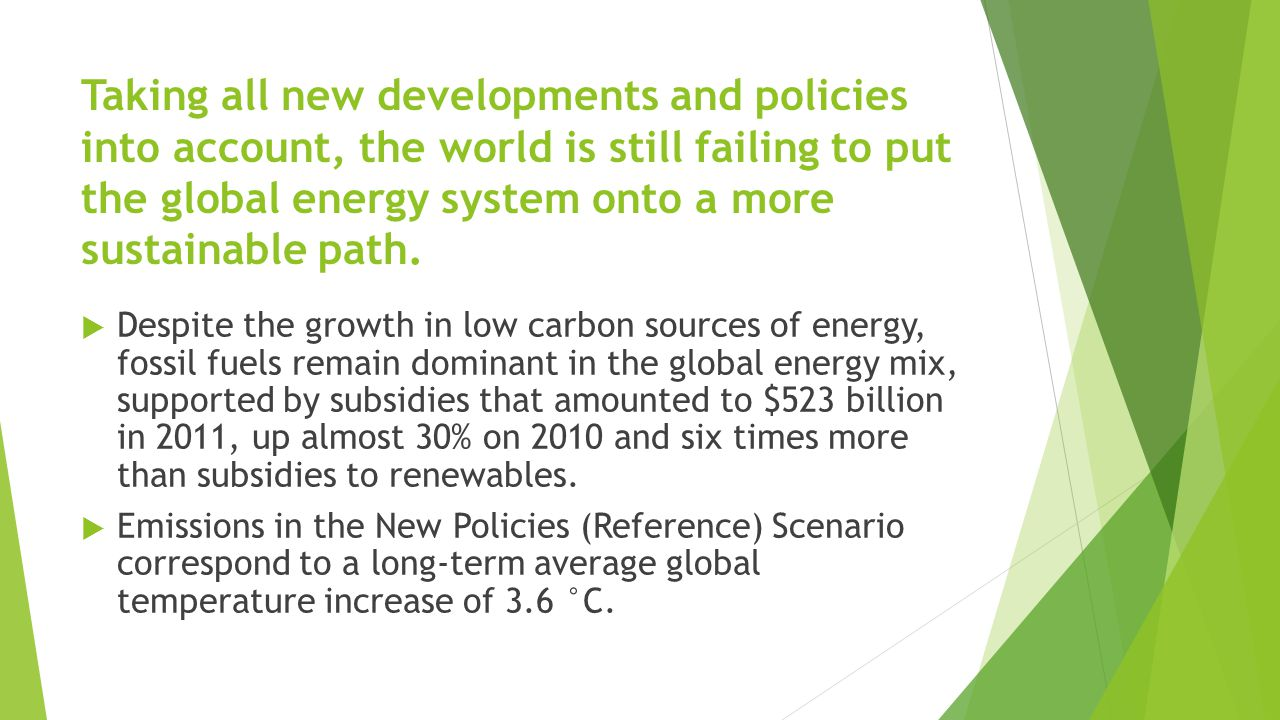 Our Efficient World (Alternative) Scenario shows how tackling the barriers to energy efficiency investment can unleash this potential and realise huge gains for energy security, economic growth and the environment  taking actions to remove the barriers obstructing the implementation of energy efficiency measures that are economically viable.