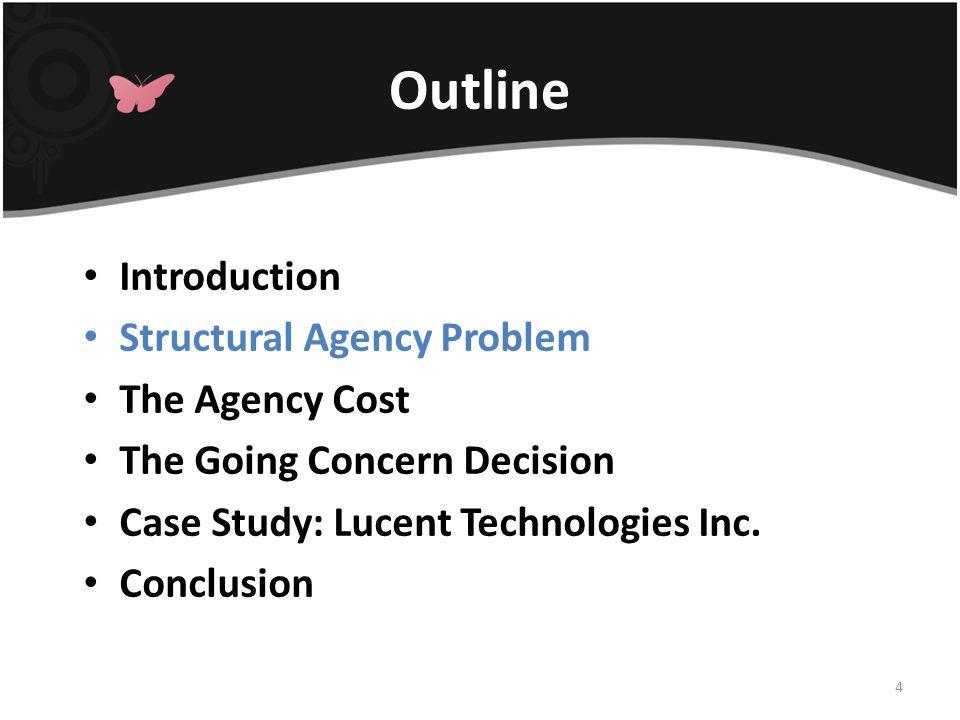 Structural Agency Problem 1.有能力支付下期的 debt payment 2.