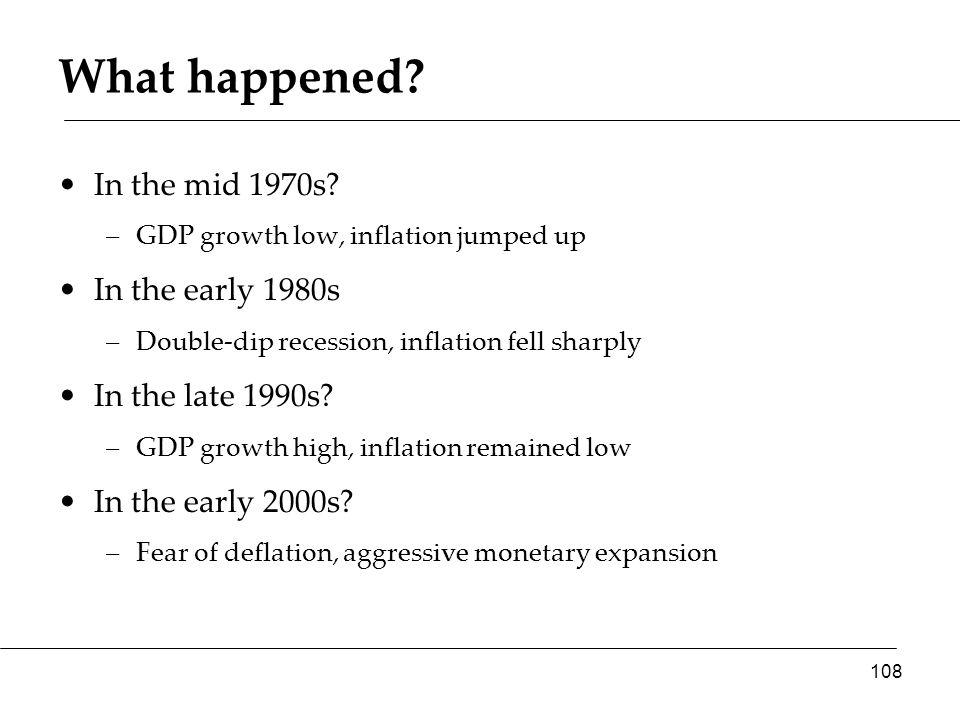 What happened. In the mid 1970s.