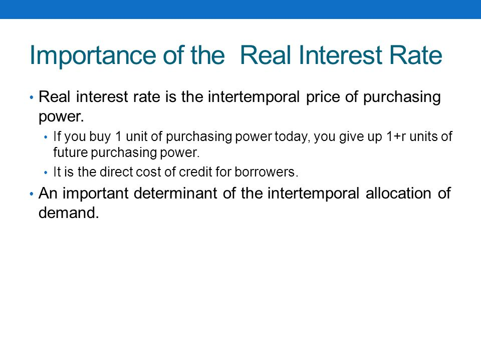 Zero Lower Bound One constraint on using the interbank interest rate as an operating target: nominal interest rates cannot go below zero.