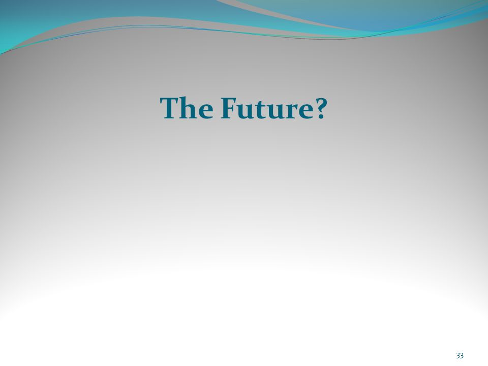 The Future 33