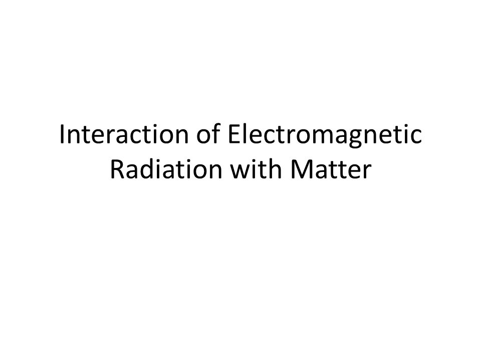 Dispersion and Complex Refractive Index The electric field of the wave becomes