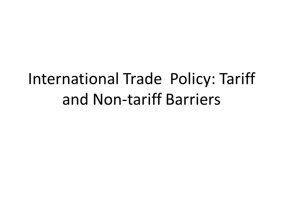 What is the difference between Tariff Barriers and non Tariff Barriers The purpose of both tariff and non tariff barriers is same that is to impose restriction on import but they differ in approach and manner.