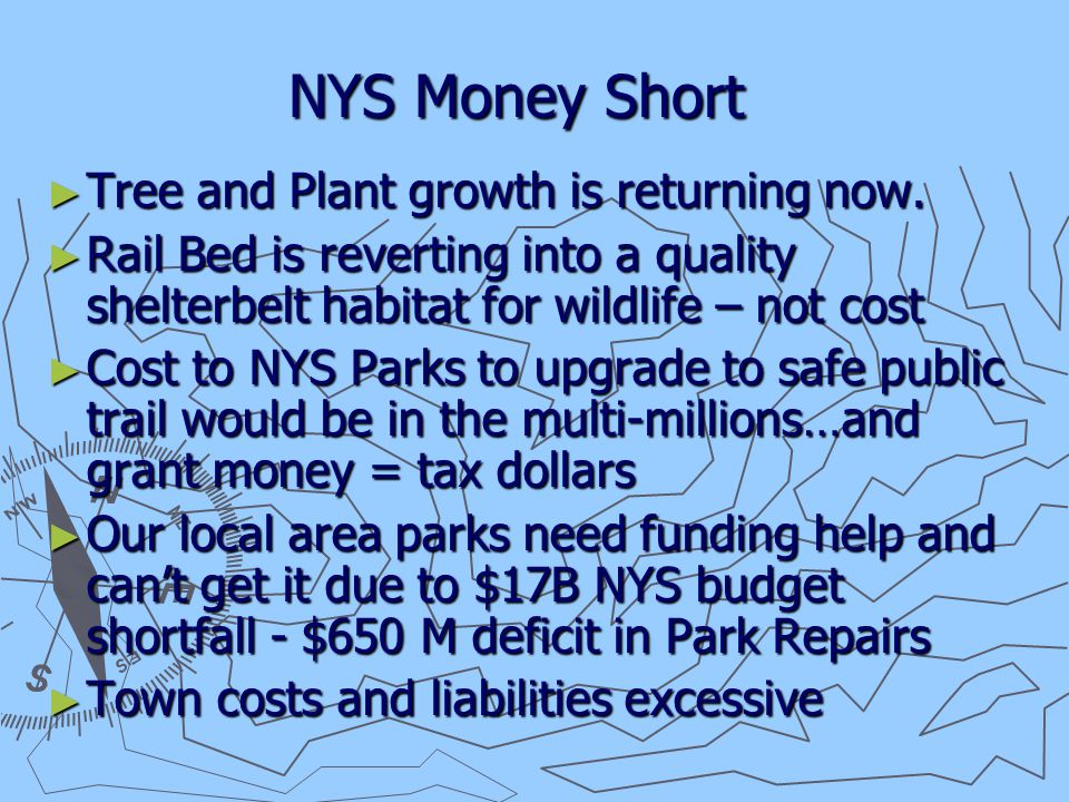 NYS Money Short ► Tree and Plant growth is returning now.