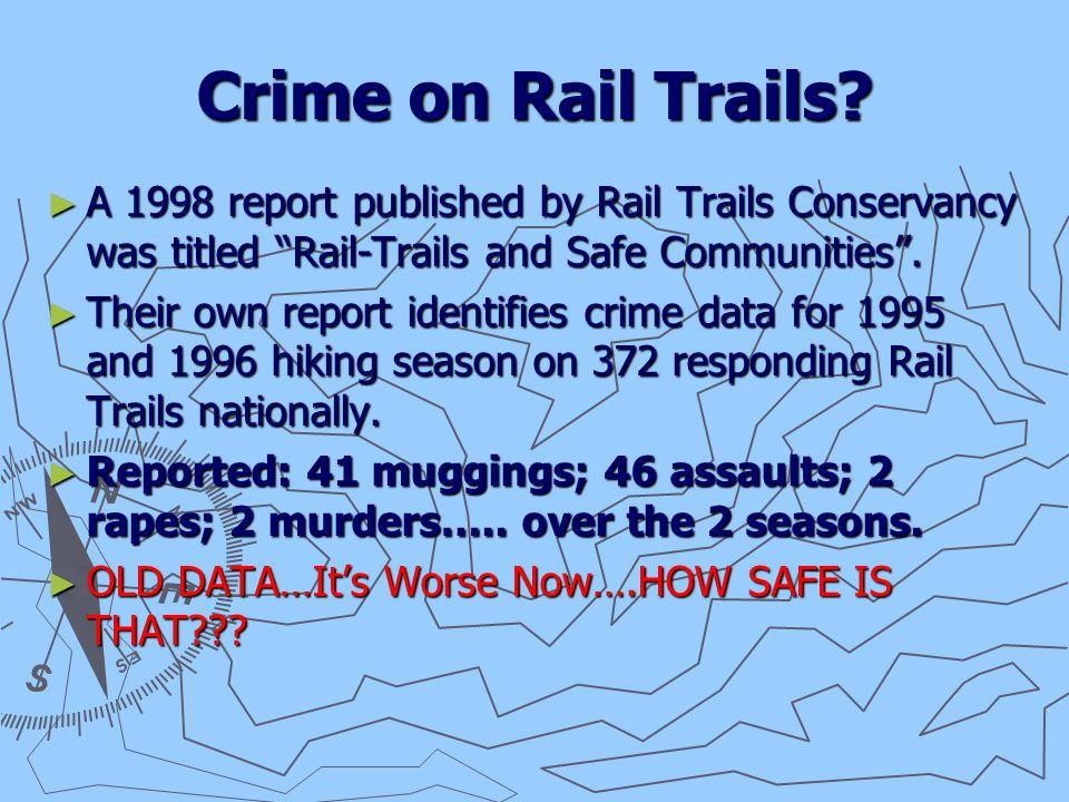 Crime on Rail Trails.