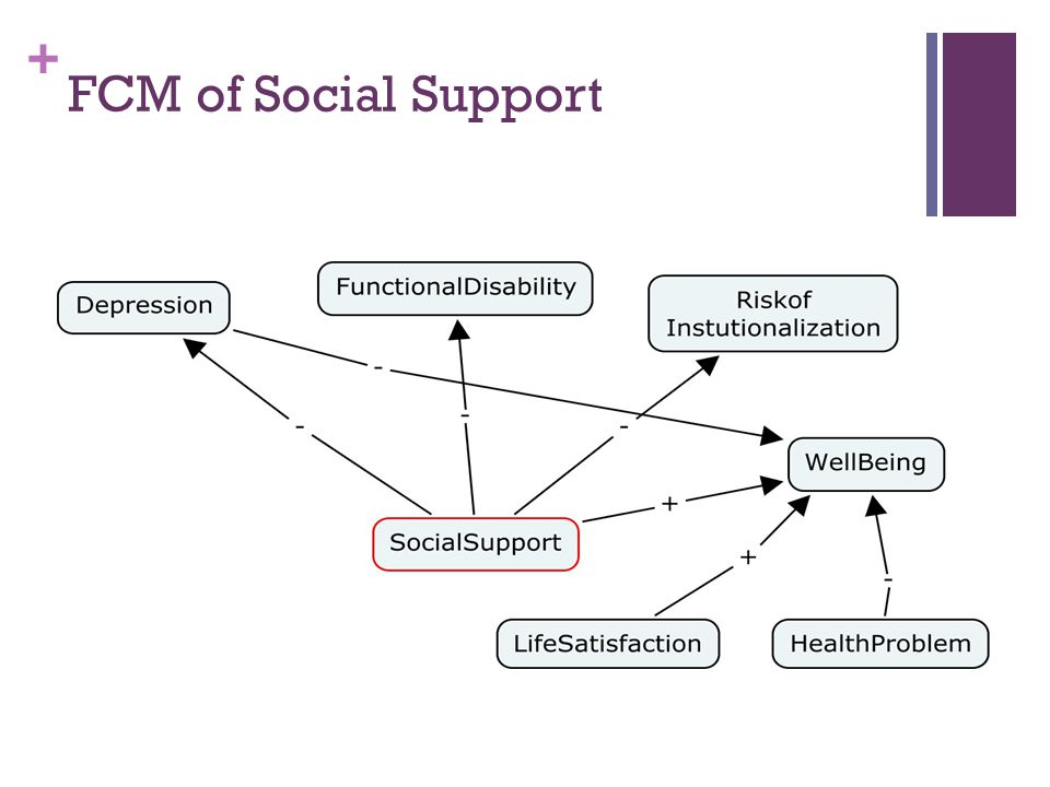 + FCM of Social Support