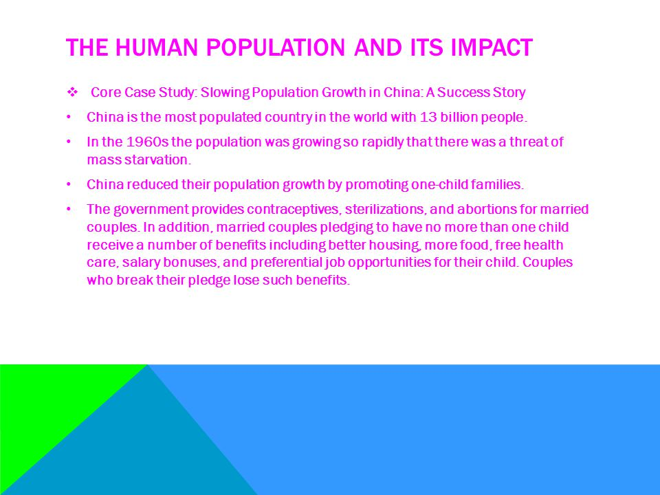 6-1 HOW MANY PEOPLE CAN THE EARTH SUPPORT  Human Population Growth Continues but is Unevenly Distributes There are three major factors that account for population increase: First, humans developed the ability to expand into almost all of the planet's climate zones and habitats.