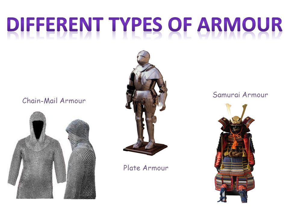 Chain-Mail Armour Plate Armour Samurai Armour