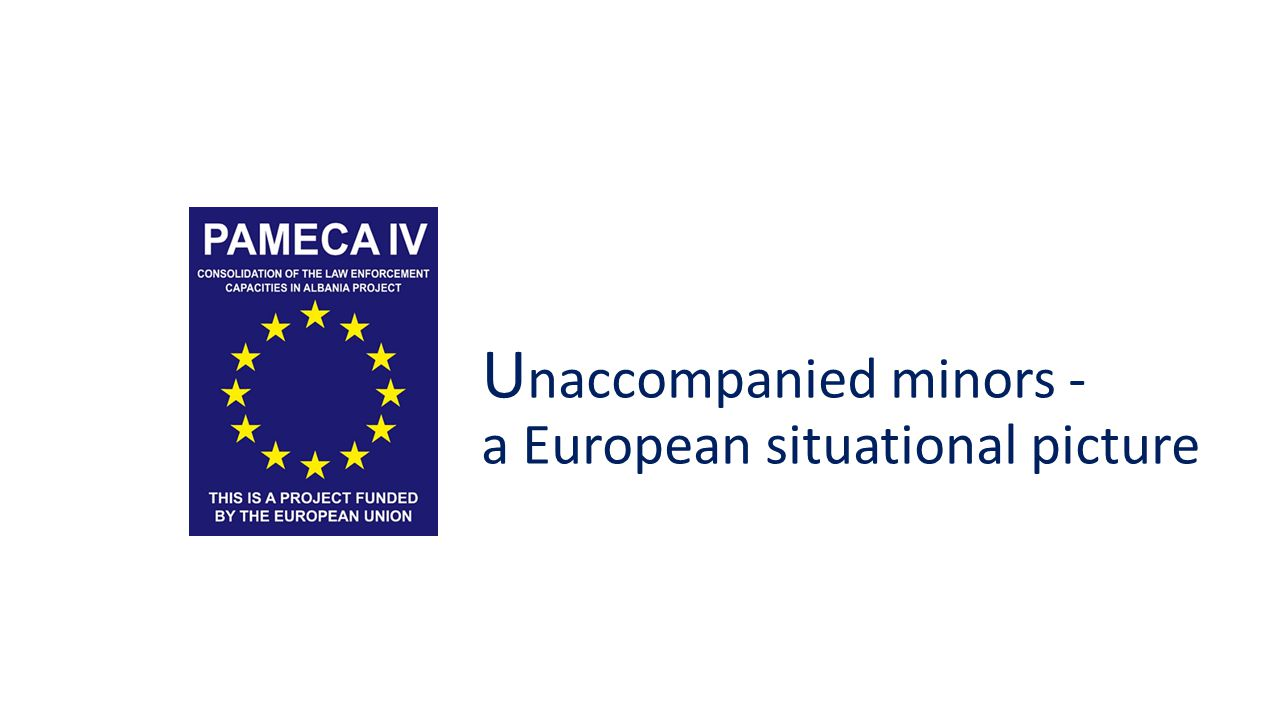 U naccompanied minors - a European situational picture