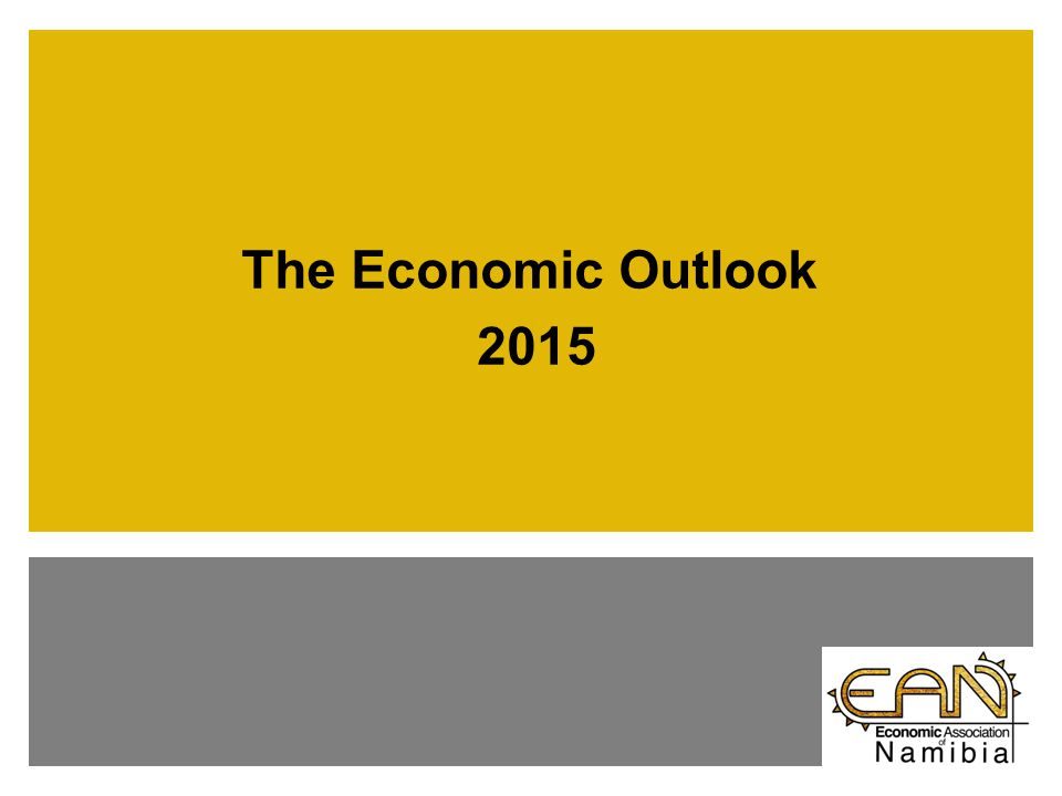 The Economic Outlook 2015