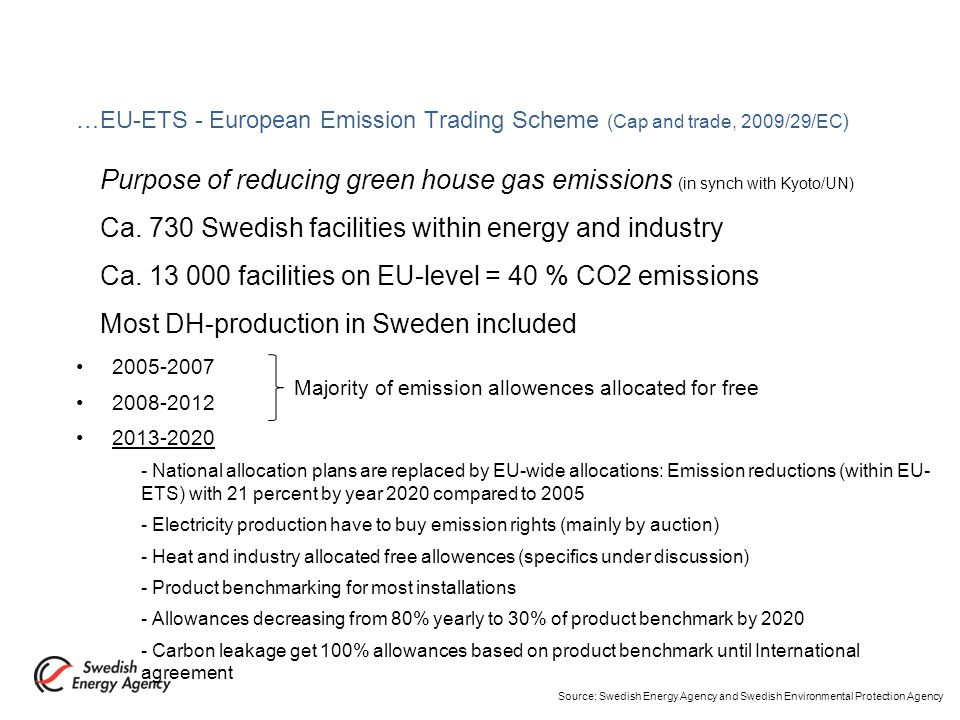 …The Electric Certificate System 2003-2035 a market-based system to support the expansion of electricity production in Sweden from renewable energy sources and peat.